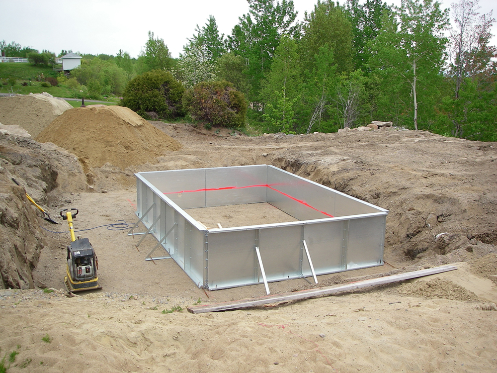 Piscine cologique aquaplantes for Construction piscine autorisation