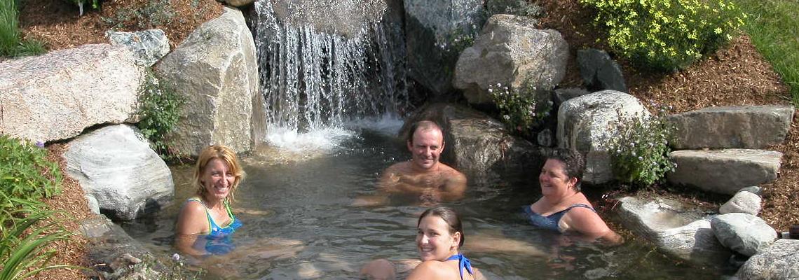Spa naturel et bain nordique